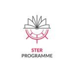 program logo: combination of anchor and book